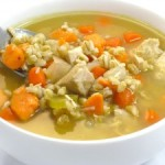chicken barely soup