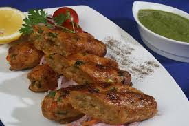 vegetables seekh kabab