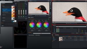 video editing software DaVinci Resolve