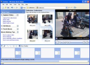 video editing software Windows Movie Maker