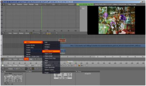 video editing software blender