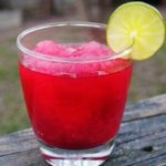 pomegranate slush beverage