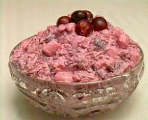 cranberry soufflé salad recipe