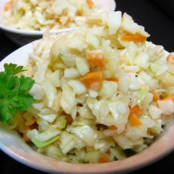 jellied cole slaw recipe