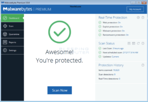 Free anti-malware software