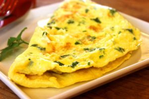 weight gain recipes omelet