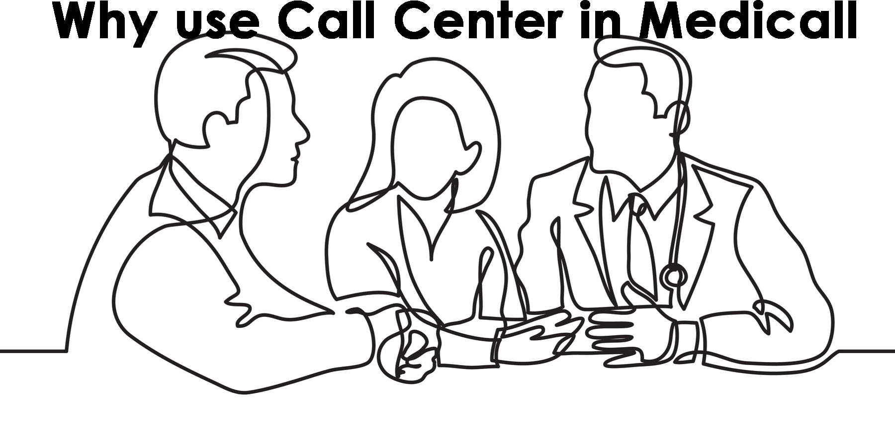 Why use call centers in medicine