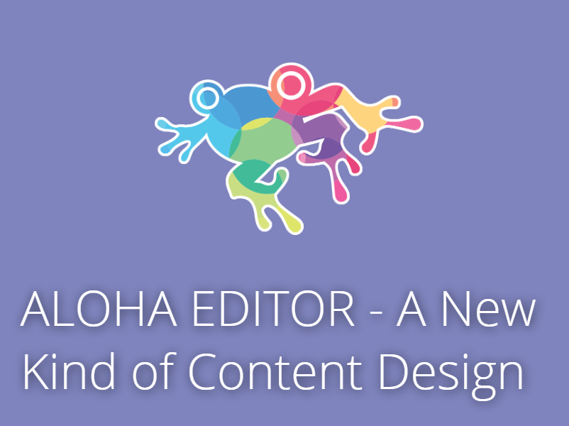 open source Aloha Editor